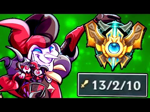 I'M A MONSTER ON SHACO NOW! - Challenger...