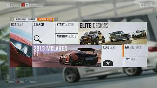 Leaked Forza Horizon 3 Gameplay (Auction house, Widebody Bmw, Map)
