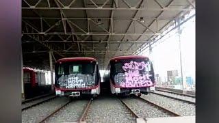 Rayan nuevos trenes del Metro antes de salir a circulación - CHV NOTICIAS