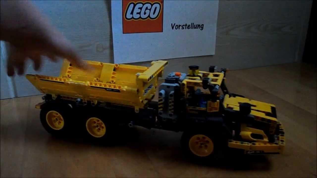 vorstellung lego technic transport container und