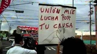 ユニオンみえ、大起産業前で抗議行動
