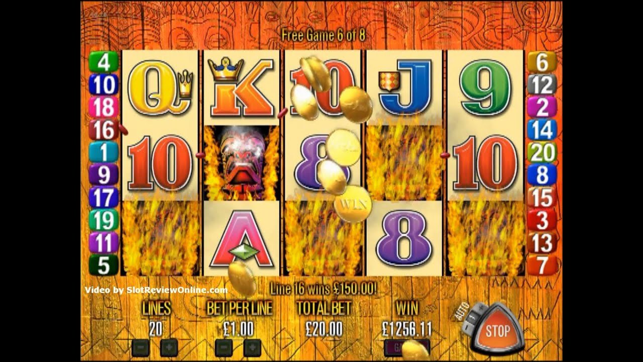 Tiki Torch™ Slot Machine Game to Play Free in Aristocrats Online Casinos