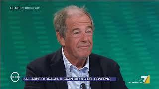 Draghi, Crosetto (FdI): 'Con la stessa moneta dovrebbero esserci spread simili e non così diversi'
