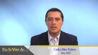 Carlos Mier Padrón Voto 2015
