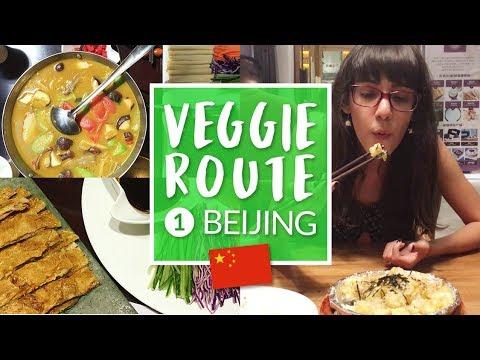 Mi restaurant vegano favorito en Beijing + Veggie Route (ENG SUB) - Ni Hao Cassandra