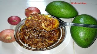 কাঁচা আমের ঝুরি আচার | Grated Raw Mango Pickle | আমের ঝুরি আচার