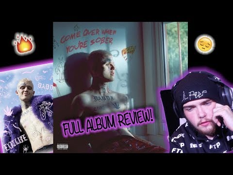 Lil Peep - Come Over When You Are Sober 2 (Full Album) Reaction/Review