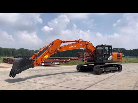 Used heavy machinery Hitachi ZX220LC  Crawler excavator