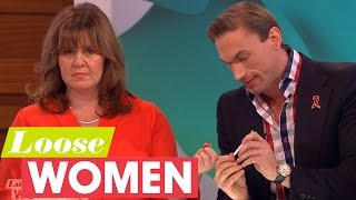 Coleen And Saira Take A HIV Test Live On Air With Dr Christian | Loose Women