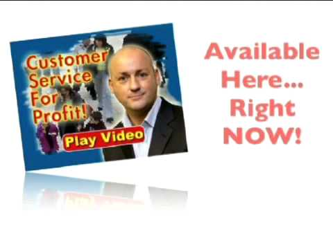 Customer Service For Profit DVD