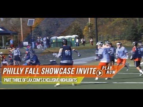 Philly Fall Showcase Invite | 2013 Lax.com Highlights