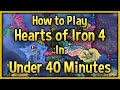 Hearts Of Iron 4 Tutorial 2018 How To Play HoI4 In Under 40 Minutes Guide No DLC mp3