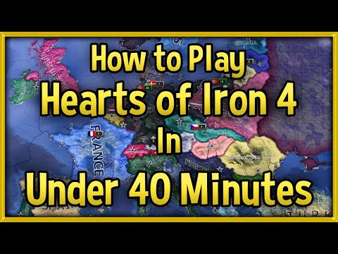 Hearts of Iron 4 Tutorial 2018 - How to Play HoI4 in Under 40 Minutes Guide! [No DLC]