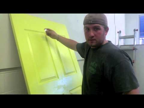 How to distress a door | Chicago Shabby Chic | shabby chic distressing