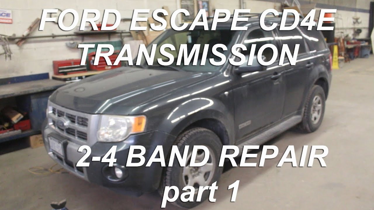 2 4 Band Replacement Ford Escape
