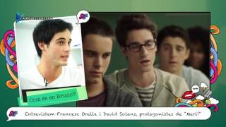"Entrevista als protagonistes de la sèrie ""Merlí"""