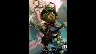 Hard Rock Pinocchio или тяжелый Буратино