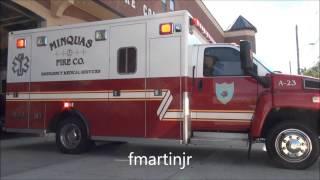 Ambulance 23 responding to Christiana to wreck 9 6 13