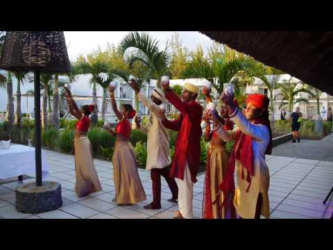 Indian Dance -  Riu Creole  - Le Morne - Mauritius