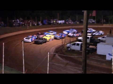 Winder Barrow Speedway Stock 4 Cylinders A's Feature Race 7/6/19