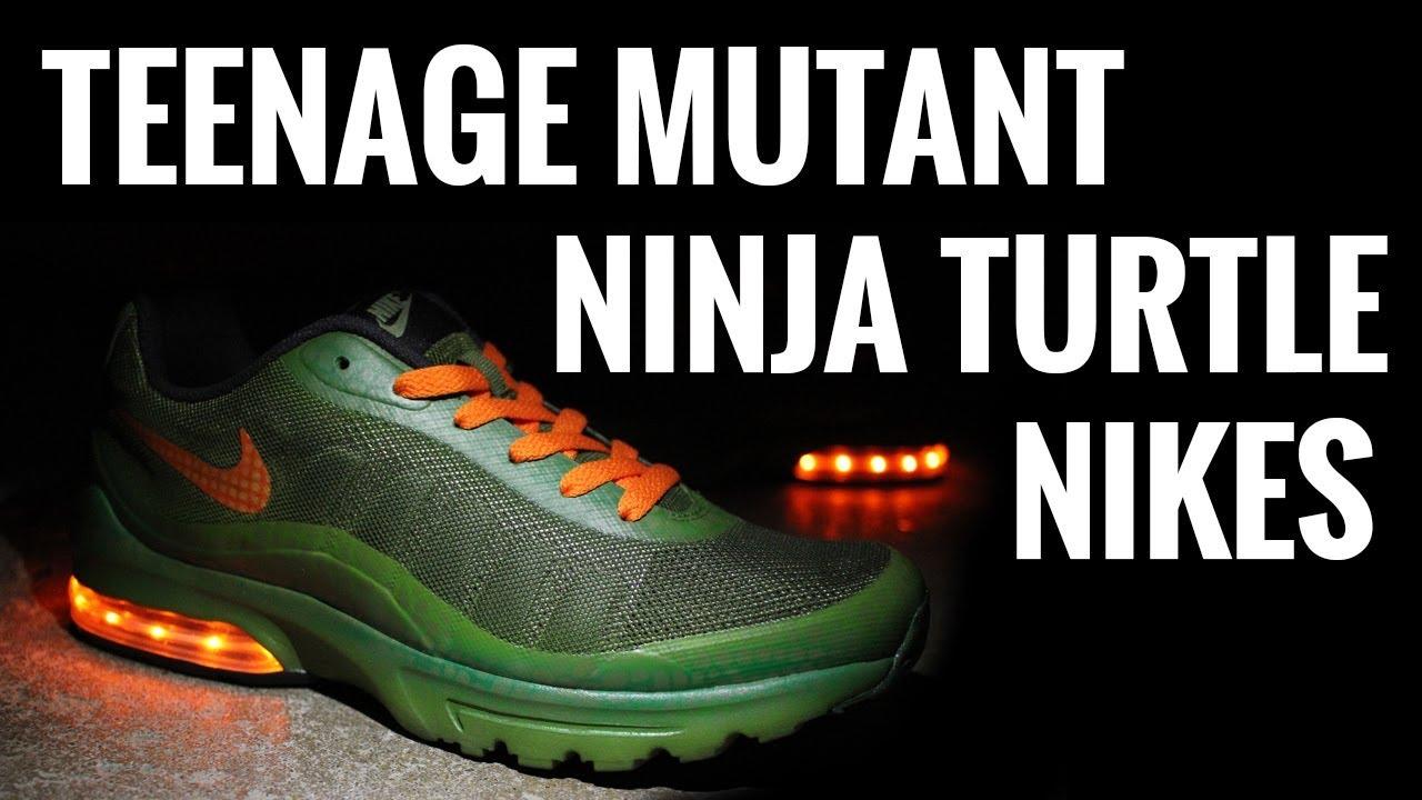 Teenage Mutant Ninja Turtle Custom Sneakers Nike Air Max