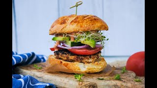 Burger Recipe: AMAZING Chicken Ricotta Burgers by Everyday Gourmet with Blakely