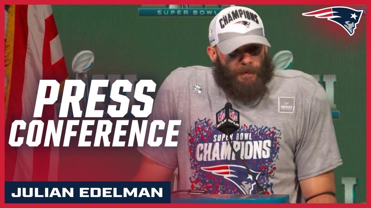 4c7517de1 Julian Edelman on being named Super Bowl LIII MVP. New England Patriots