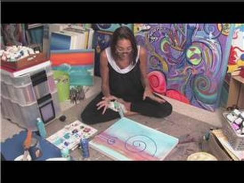 Acrylic painting tips acrylic abstract painting for Tips for using acrylic paint