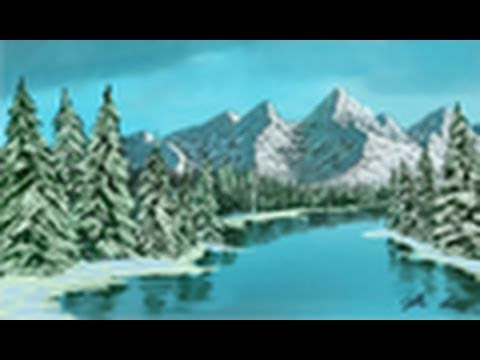 Snowy Mountains After a Blizzard - YouTube