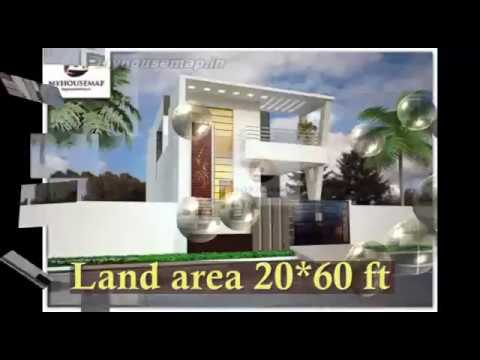 Indian House Design Front Elevation 20.60 latest 2017 - YouTube