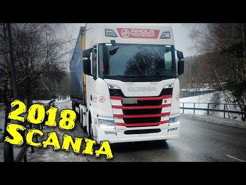 Scania R500 2018 (NEW GENERATION) - SemiTrailer Drag Truck, Eskilstuna to Västerås, Sweden