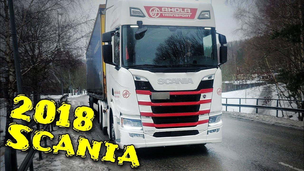 Scania R500 2018 New Generation Semitrailer Drag Truck Eskilstuna To Västerås Sweden