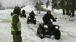 Курсанты Рязанского десантного училища испытывают новый вид военного транспорта