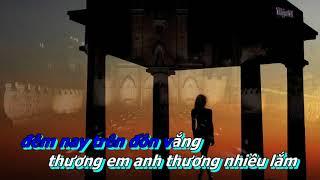 Dem Buon Tinh Le Karaoke Song Ca Voi Truong Vu