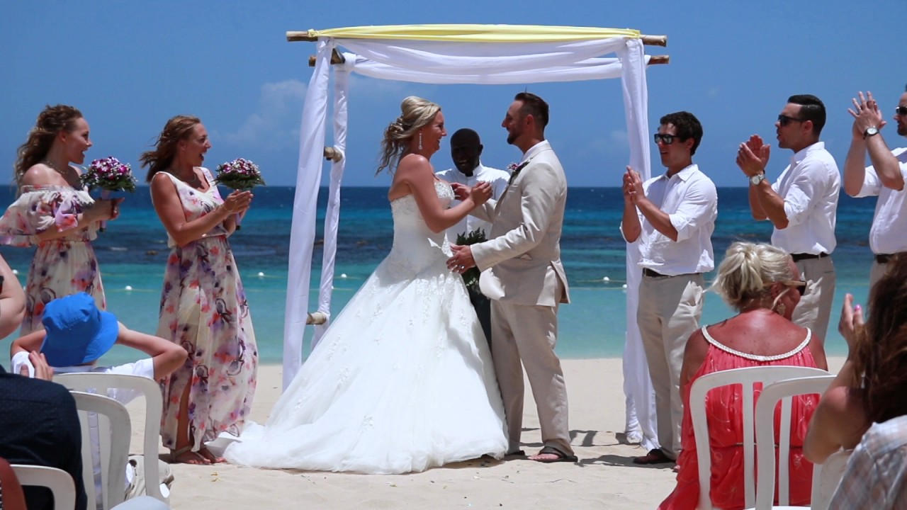 Chris + Olivia Jewel Runaway Bay Jamaica Destination Wedding - YouTube