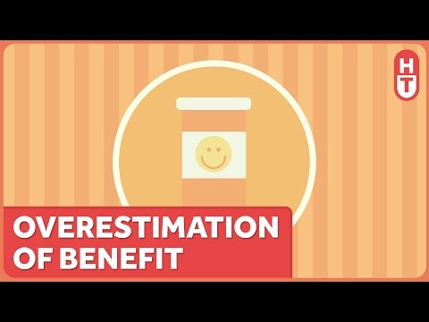 Overestimation of Benefit