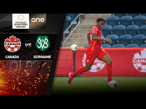 HIGHLIGHTS | Canada v Suriname - CONCACAF Men's World Cup Qualifiers (Qatar 2022)