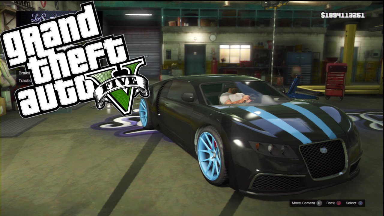 Gta V Custom Car Build Transformers Aoe Drift