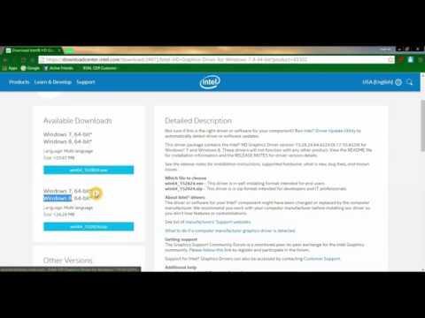 windows 7 64 bit graphics drivers free