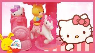Jouets et oeufs surprises Hello Kitty