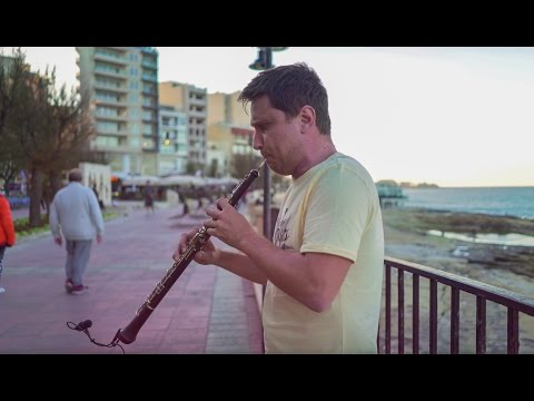 Hallelujah - Toms Abelis oboe instrumental Cover