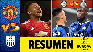 Manchester United y el Inter de Milán se meten en cuartos de final de la Europa League | Goles UEL