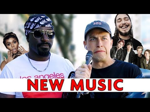 STRANGERS REACT TO NEW MUSIC (POST MALONE, 5SOS, + MORE) | Chris Klemens