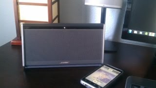 Review & Demo: Bose Soundlink Wireless Mobile Speaker