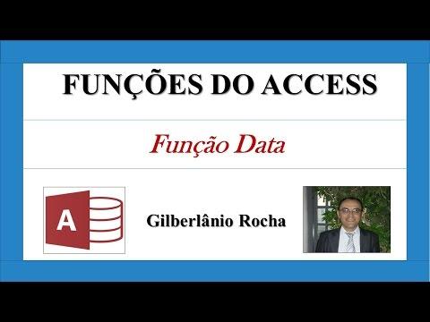 Aula de Access - Função Data