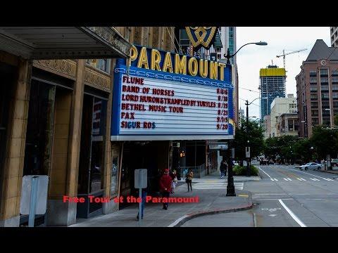 Paramount Theatre - Free Tour - Seattle WA
