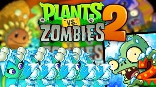 Plants Vs Zombies 2 | Exclusive MISSILE TOE Plant Christmas Gameplay! | Festive Party!