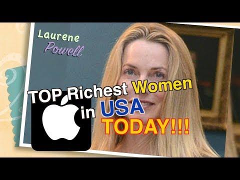 Top 5 Richest Women In America 2017