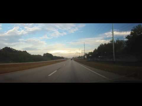 Driving on US 27 from Lake Placid, Florida to Avon Park