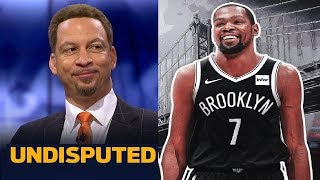 UNDISPUTED | Chris Broussard: Should the Nets be willing to let Kevin Durant miss the entire season?